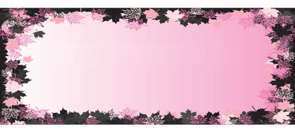 Mothers Day Flower Frame Pink Design Small Personalised Banner - 4ft x 2ft