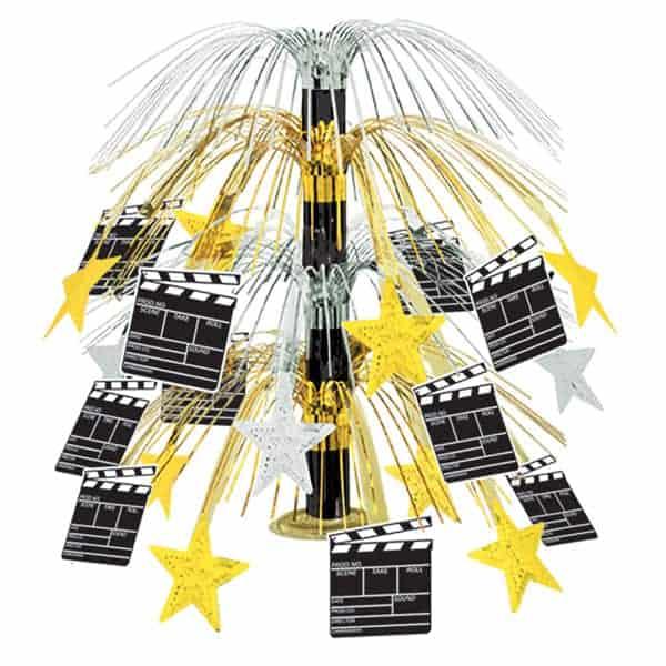 Movie Set Clapboard Cascade Centrepiece