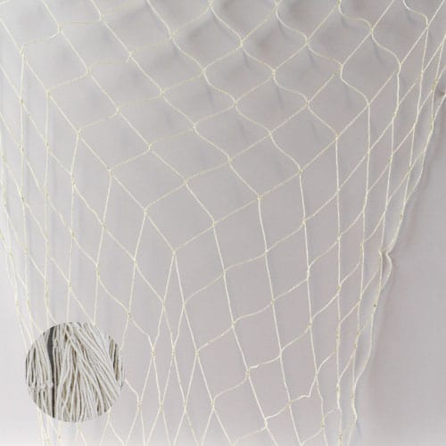 Natural Colour Fish Netting - 4 x 12 Ft / 122 x 366cm