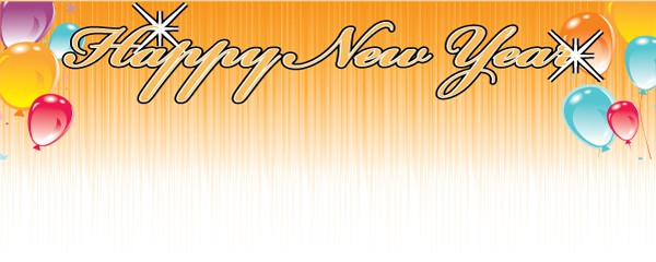 new years celebration design large personalised banner 10ft x 4ft