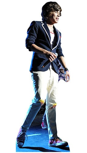 One Direction Harry Styles Singing Lifesize Cardboard Cutout - 178cm Product Gallery Image