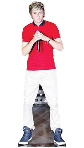 One Direction Niall Horan Singing Lifesize Cardboard Cutout - 178cm Product Gallery Image