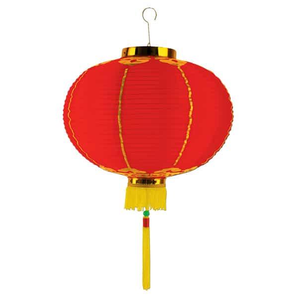 Oriental Lantern with Decorative Tassel - 16 Inches / 41cm