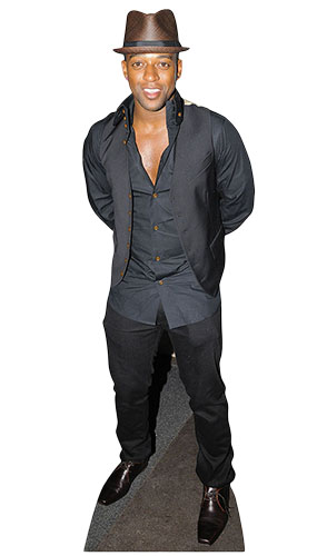 Oritse Williams Lifesize Cardboard Cutout - 165cm Product Gallery Image
