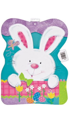 Patchwork Bunny Double Sided Cutout - 15.5 Inches / 39.5cm Product Image