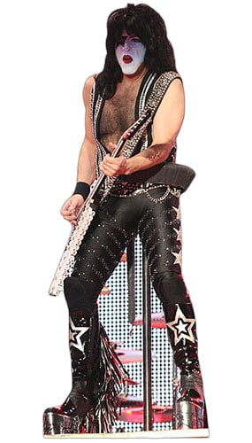 Paul Stanley Lifesize Cardboard Cutout - 177cm Product Gallery Image