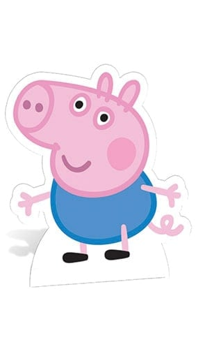 Peppa Pig George Pig Lifesize Cardboard Cutout - 60cm Product Gallery Image