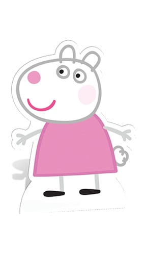 Peppa Pig Suzy Sheep Lifesize Cardboard Cutout - 80cm Product Gallery Image