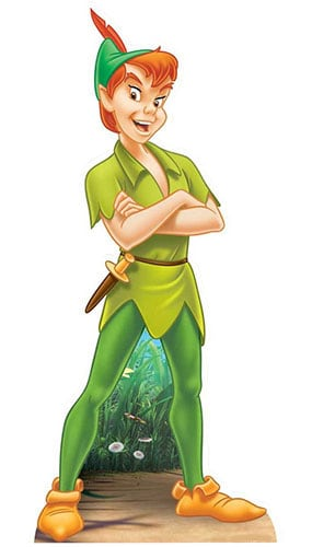 Peter Pan Lifesize Cardboard Cutout - 162cm Product Gallery Image