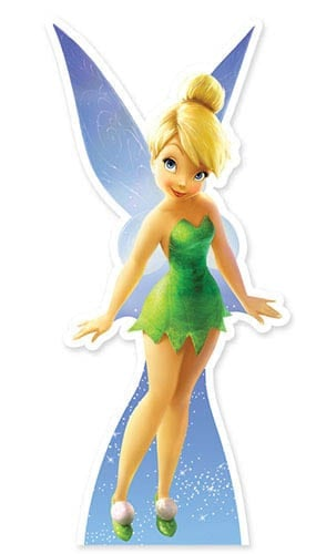 Tinkerbell Lifesize Cardboard Cutout - 103cm Product Gallery Image