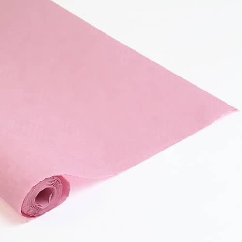 Pink Paper Banquet Roll - 8m x 1.2m