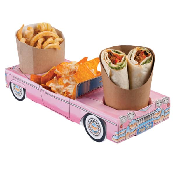 Pink Cadillac Combi Meal Box Product Image