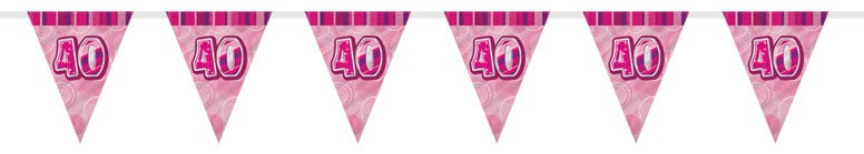 pink-glitz-40th-birthday-bunting-12-ft-366cm-product-image