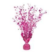Pink Glitz Happy Birthday Balloon Weight Centrepiece
