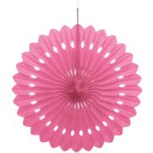 Pink Hanging Decorative Honeycomb Fan