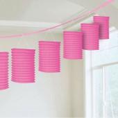 Pink Hanging Paper Lantern