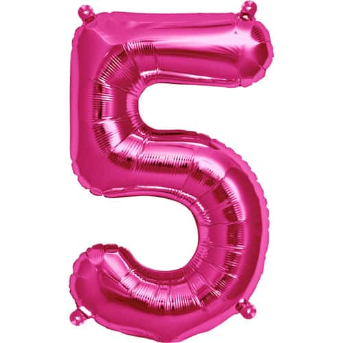 pink-number-5-supershape-foil-balloon-34-inches-86cm-product-image