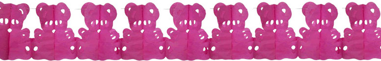 pink-teddy-bear-honeycomb-garland-paper-decoration-4-metre-product-image