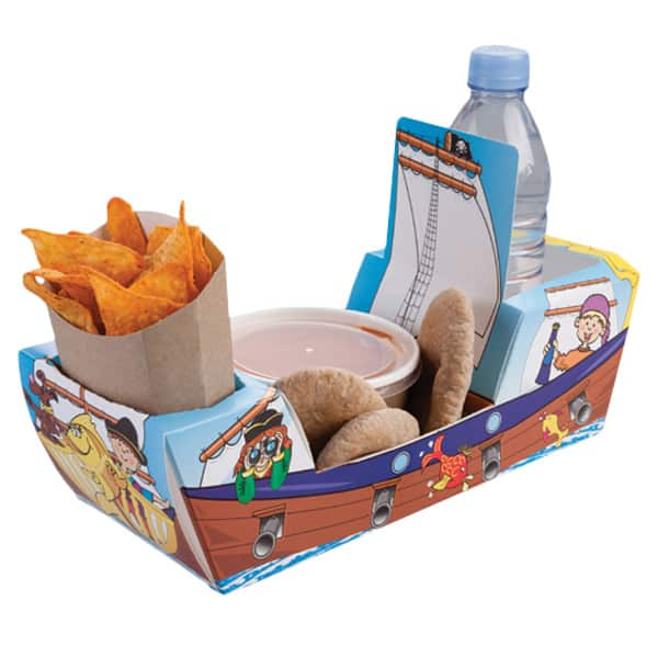 Pirate Galleon Combi Meal Box