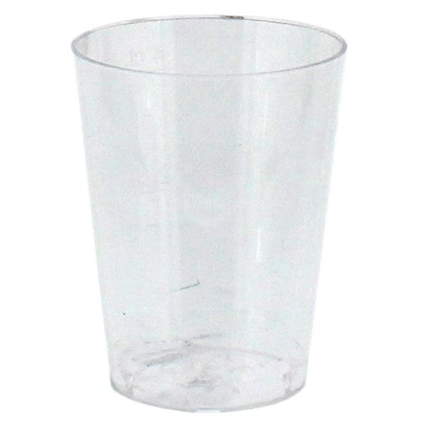 Plastic Shot Glasses - 50ml - Pack of 25