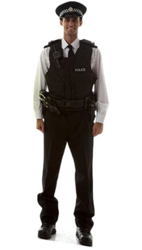 Policeman Lifesize Cardboard Cutout - 185cm Product Gallery Image
