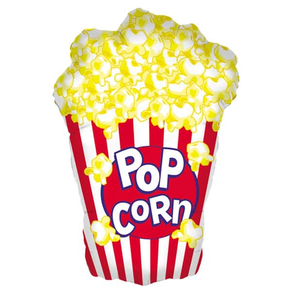 Popcorn Helium Foil Giant Balloon 97cm / 38 in