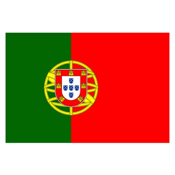 Portugal Flag - 5 x 3 Ft