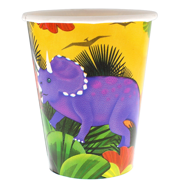 Prehistoric Party Paper Cup 266ml