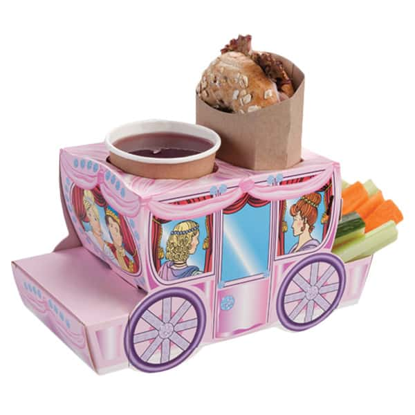 Princess Coach Combi Meal Box