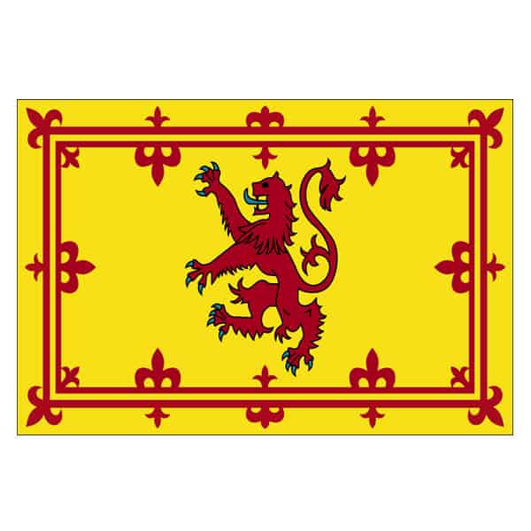 Rampant Lion Scotland Flag - 5 x 3 Ft