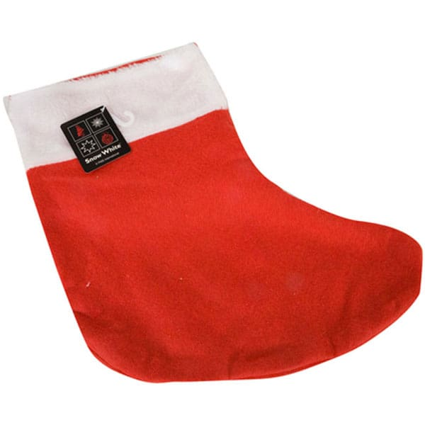 Red Christmas Stocking 35cm