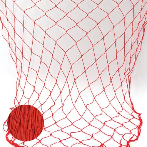 Red Fish Netting - 4 x 12 Ft / 122 x 366cm