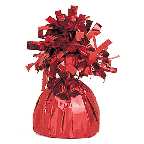 Red Foil Balloon Weight Product Image