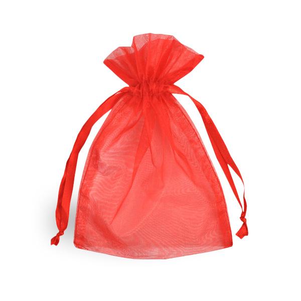 Red Organza Bag