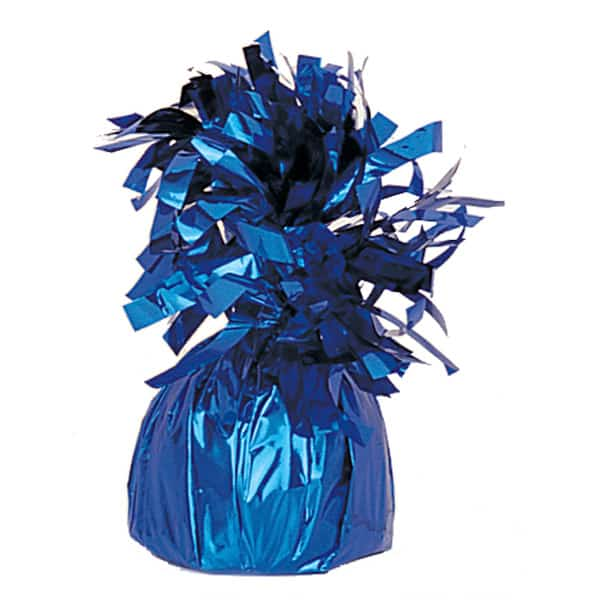 Royal Blue Foil Balloon Weight Product Image