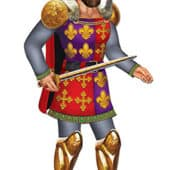 Royal King Jointed Decorative Cutout – 36 Inches / 91cm