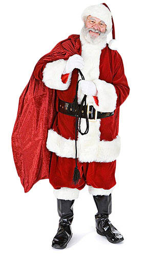 Santa with Sack Lifesize Cardboard Cutout - 156cm Product Gallery Image