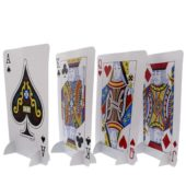 Card Night Standup Centrepieces – Set of 4