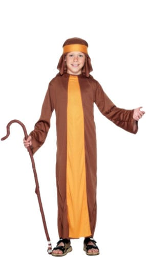 Shepherd Costume 4 - 6 Years Childrens Fancy Dress Product Image