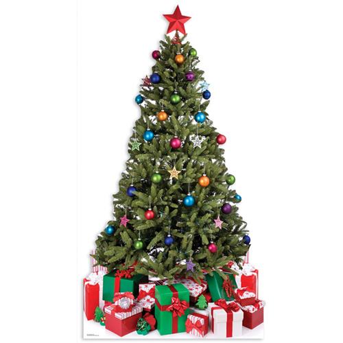 Piccolo Albero di Natale Grandezza Naturale - Sagoma di Cartone Product Gallery Image