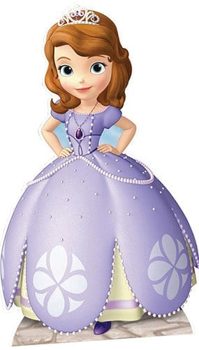 Sofia the First Lifesize Cardboard Cutout - 151cm Product Gallery Image