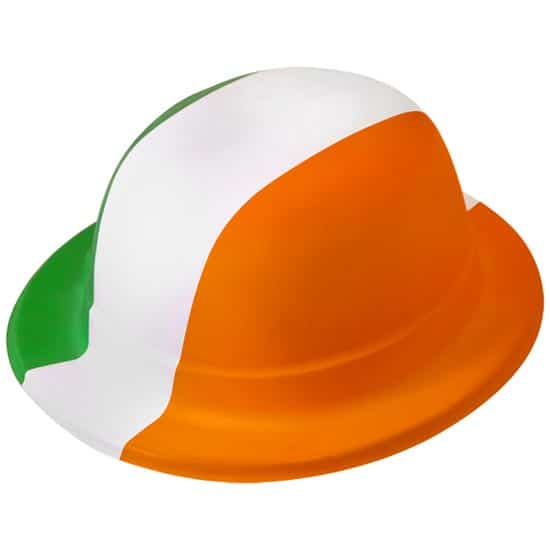 St Patricks Day Irish PVC Bowler Hat