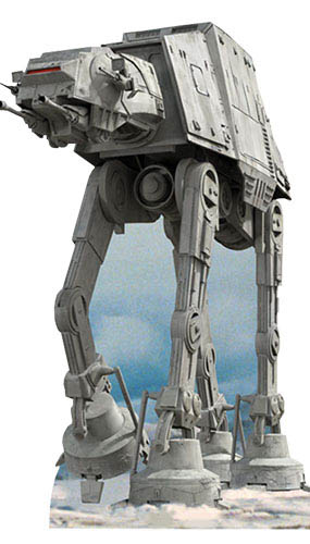 Star Wars AT AT Lifesize Cardboard Cutout - 197cm Product Gallery Image