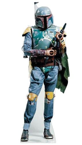 Star Wars Boba Fett Lifesize Cardboard Cutout - 188cm Product Gallery Image