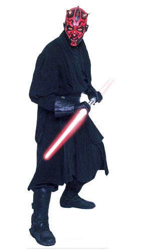 Star Wars Darth Maul Lifesize Cardboard Cutout - 185cm Product Gallery Image