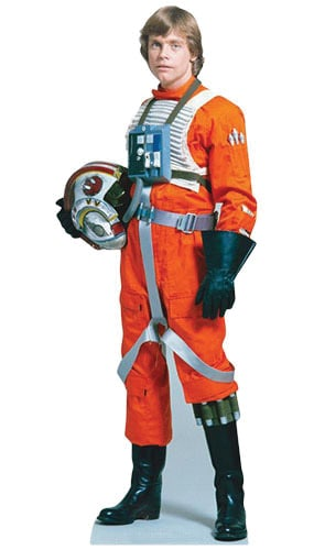 Star Wars Luke Skywalker Lifesize Cardboard Cutout - 184cm Product Gallery Image