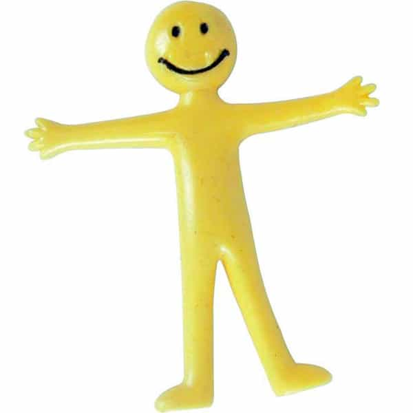 Stretchy Smiley Yellow Man
