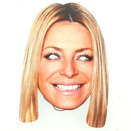 Strictly Come Dancing Tess Daly Cardboard Face Mask