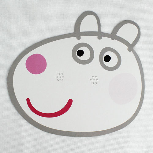 Peppa Pig Suzie Sheep Cardboard Face Mask Product Image