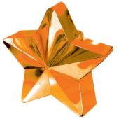 Tangerine Star Balloon Weight
